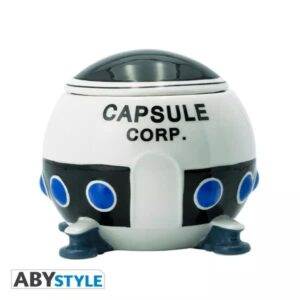 apsule corp spaceship dragon ball z